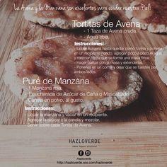 La Avena y la Manzana son excelentes para cuidar y mantener saludable nuestra piel, podemos incluirlas en nuestra dieta de forma deliciosa!  #tips, #jabonesartesanales, #veganos, #Monterrey, #Mty