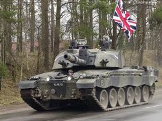 British Army's Challenger 2 tanks