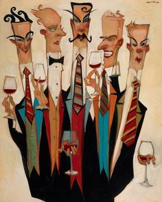 sommeliers by clifford bailey
