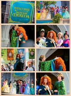 Merida officially is crowned a Disney Princess Prince And Princess, Disney Princess, Film Images, Merida, Disney Magic, Brave Disney, The Past, Royalty, Animation