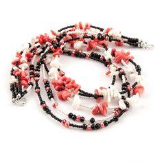 Breve elegante multi-strand collana / fatta di ArtigianaDesigns