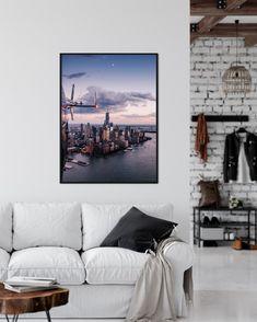 Aufnahmeort: Lower Manhattan, New York City 2018 Manhattan New York, Lower Manhattan, New York City, Art Prints For Sale, Skyline, Home Decor, Pictures, House, Decoration Home