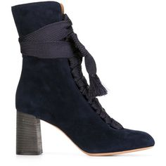 a63ccab328b Chloé  Harper  ankle boots (65.570 RUB) ❤ liked on Polyvore featuring shoes