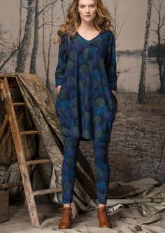 """""""Pirjo"""" leggings in cotton/modal – Finland – GUDRUN SJÖDÉN – Webshop, mail order and boutiques 