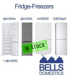 Fridge Freezers Iceking ik3633ap2http://bellsdomestics.co.uk/product_freestandingfridge_freezer?pro_id=1048 Fridgemaster mc55250http://bellsdomestics.co.uk/product_freestandingfridge_freezer?pro_id=1049 Sharp sjbm324whttp://bellsdomestics.co.uk/product_freestandingfridge_freezer?pro_id=1057 Sharp sjbm324shttp://bellsdomestics.co.uk/product_freestandingfridge_freezer?pro_id=1056 Sharp sjbm324bhttp://bellsdomestics.co.uk/product_freestandingfridge_freezer?pro_id=1055