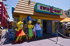 "The Kwik-E-Mart is a ""must visit"" location, and not just because you can meet The Simpsons out front. 