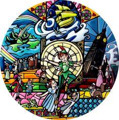 Disney Stained Glass, Disney Marvel, Stained Glass Windows, Disney Princesses, Disney Art, Porsche Logo, Peter Pan, Bunt, Pixar