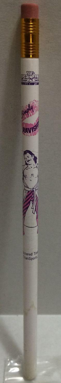 (TAS008103) - 1991 Titan Sports WWF Superstars Pencil - Ravishing Rick Rude