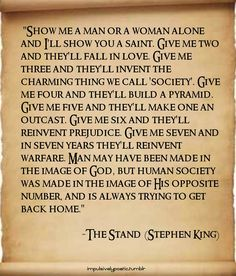 The Stand, such a good book                              …
