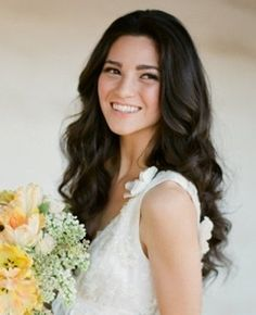 41 Trendy Wedding Hairstyles For Long Hair All Up Loose Curls - Wedding & Bridesmaid Hairstyles Loose Curls Wedding, Long Loose Curls, Long Hair Waves, Wavy Wedding Hair, Long Hair Wedding Styles, Wedding Hairstyles For Long Hair, Wedding Hair And Makeup, Trendy Wedding, Wavy Hair