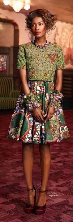 and for the latest in trending accessories, visit Designs By Maral, on etsy… African Inspired Fashion, African Print Fashion, Africa Fashion, African Fashion Dresses, Ethnic Fashion, Fashion Prints, Womens Fashion, Fashion Design, African Prints