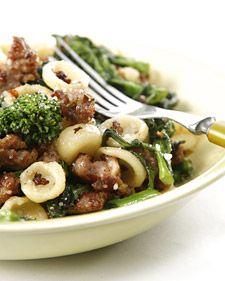 This mouthwatering recipe for orecchiette with broccoli rabe comes courtesy of Donatella Arpaia.