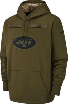 91117984b5a0 Nike Men s Salute to Service New York Jets Therma-FIT Performance Hoodie