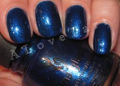 Deep blue, China Glaze Blue Years Eve