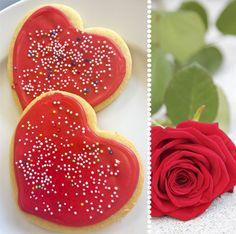 Smørkjeks/Butter cookies http://tessasdesign.blogspot.no/2013/02/valentineskjeks.html