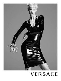Saskia de Brauw at Versace Fall/Winter 2013.14 ad campaign