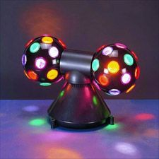 double strobe light 40 bright colorful beams of light orbiting the ceiling and floor bright special lighting honor dlm