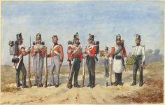 King's Own Borderers) Regiment of Foot by R. British Army Uniform, British Uniforms, Edwardian Era, Victorian Era, Empire, Crimean War, British History, Military, 19th Century