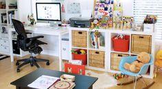 Ako zariadiť obývaciu izbu, v ktorej budú žiť aj malé deti? Kids Playing, Home Office, Corner Desk, Children, Furniture, Home Decor, Corner Table, Young Children, Boys Playing