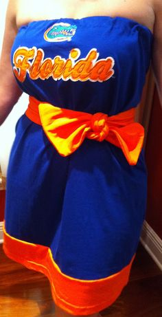 A Florida Gators gameday dress