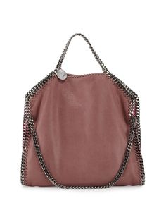 af3291a5db1 Stella McCartney Falabella Small Colorblock Fold-Over Tote Bag