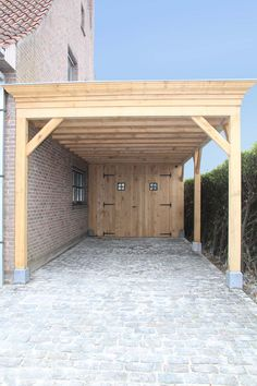 Wooden carport with storage, Wooden garage with storage, # storage Though old in principle, a pergola may be going through somewhat of a modern-day renaissance these kinds of days. A stylish open-air pound without. Diy Pergola, Wooden Pergola Kits, Pergola Carport, Building A Pergola, Gazebo, Carport Designs, Pergola Designs, Carport Modern, Wooden Carports