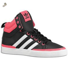 Womens Originals Adidas Top Court Black Pink Shoes (8) - Adidas sneakers for women (*Amazon Partner-Link)