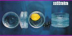 GLASS FRA IITTALA – DEL 2 – WIRKKALA VERSUS SARPANEVA – Mats Linder Vintage Advertisements, Tableware, Glass, Advertising, Dinnerware, Drinkware, Tablewares, Corning Glass, Vintage Ads