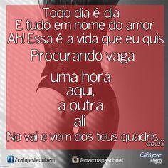Pro dia nascer feliz #Cazuza #Barão #frases #música #poesia #pensamentos #mpb #rock #brasil