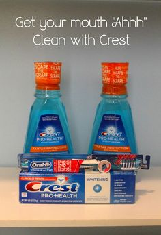 Give Your Mouth that Ahhh Feeling with #CrestProHealth