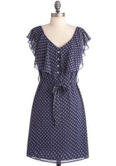 Fan-tastic! Dress | Mod Retro Vintage Dresses | ModCloth.com
