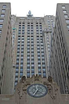 Public Art in Chicago: CBOT: Sculptural Reliefs [By Alvin Meyer] Chicago Board of Trade Building.. Architects: Holabird & Root Sculptural Reliefs: Alvin Meyer Completed: 1930 The building was designated a Chicago Landmark on May 4, 1977. It is also a National Historic Landmark..
