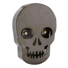 """LED Skull Wall Décor, 10"""" x 13"""""""