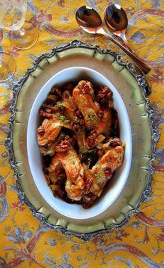 Cranberry Briased Turkey Wings - pressure cooker recipe
