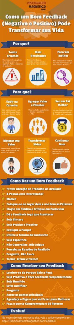 Como um bom feedback (negativo e positivo) pode transformar sua vida
