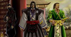A Scorpion, a Crab and a Dragon walk into a Sake House....