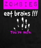 Zombies - Pink -