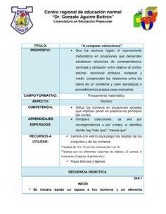 """Centro regional de educación normal """"Dr. Gonzalo Aguirre Beltrán"""" Licenciatura en Educación Preescolar  TITULO: PROPÓSITO:..."""