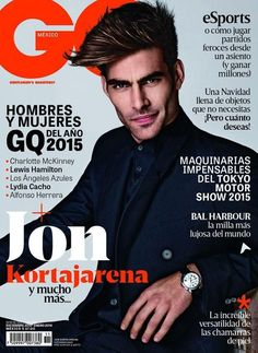 GQ Mexico January 2016 Magazine Cover (GQ Mexico)