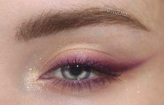 Edgy Makeup, Makeup Eye Looks, Unique Makeup, Eye Makeup Art, Kiss Makeup, Cute Makeup, Makeup Goals, Creative Makeup, Gorgeous Makeup