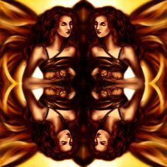 Titolo: 2specchi Tecnica: disegnato con Photoshop By Laura Giordanengo