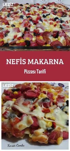 Nefis Makarna Pizzası Tarifi