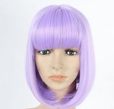 Lilac bob wig short wig by wigglywigs. Explore more products on http://wigglywigs.etsy.com