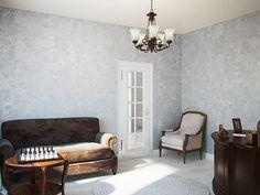 Кабинет. Интерьер двухэтажного загородного дома в п. Васкелово