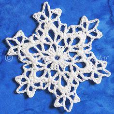 FREE PATTERN ~ Six Zeroes Snowflake