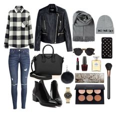 """""""WEEKEND SHOPPING"""" by fionacummings on Polyvore featuring H&M, Uniqlo, Balmain, Givenchy, Diane Von Furstenberg, Marc by Marc Jacobs, NARS Cosmetics, Chanel, OPI and Urban Decay"""