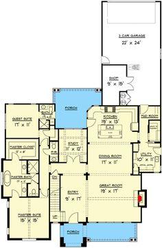 Ranch House Plans, Cottage House Plans, Craftsman House Plans, Country House Plans, New House Plans, Dream House Plans, Modern House Plans, Small House Plans, House Floor Plans