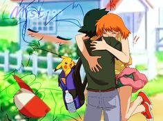 Beautiful ♡ I give good credit to whoever made this  I found this in pokeshipping.tumblr.com