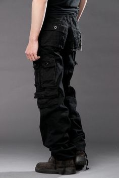 2015 New Mens Casual Military Army Cargo Camo Combat Work Pants Trousers Pant