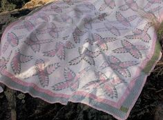 Pink and Green Pineapple Cactus Quilt